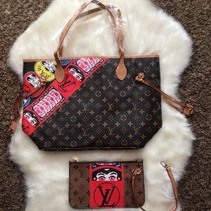 Louis Vuitton neverfull bag